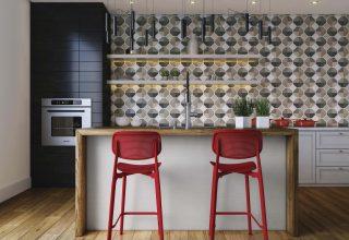 Tecido de parede na cozinha? Pode sim! Veja como a Wall Decor dá charme para esse ambiente