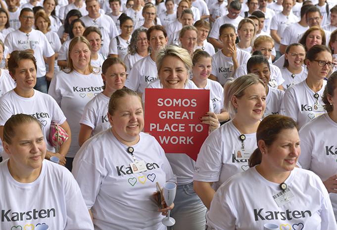 Karsten é eleita a 11° melhor empresa para trabalhar em Santa Catarina
