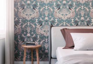 Como renovar o quarto utilizando jogos de cama e tecido para parede
