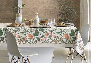 É tempo de flores: organize uma mesa de café da manhã bem colorida
