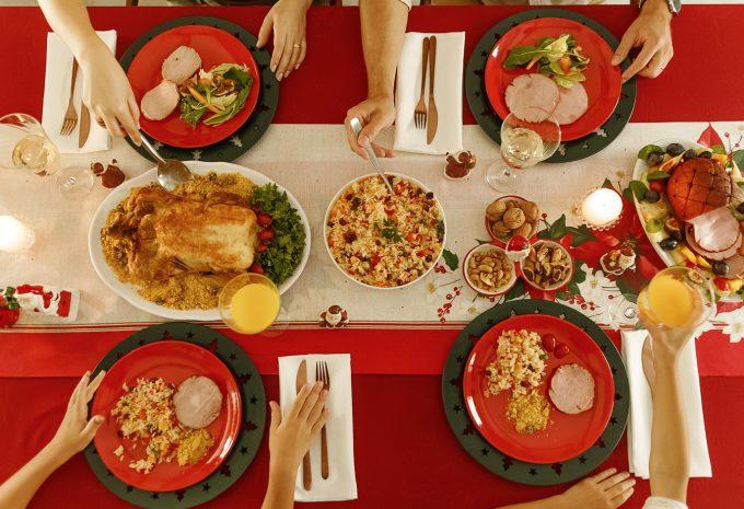 Monte uma mesa especial de Natal com produtos da Karsten